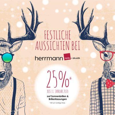 Herrmann Optik und Akustik wünscht eine frohe Adventszeit